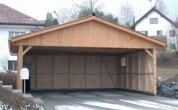 Wiata drewniana - praktyczne miejsce blisko Twojego domu