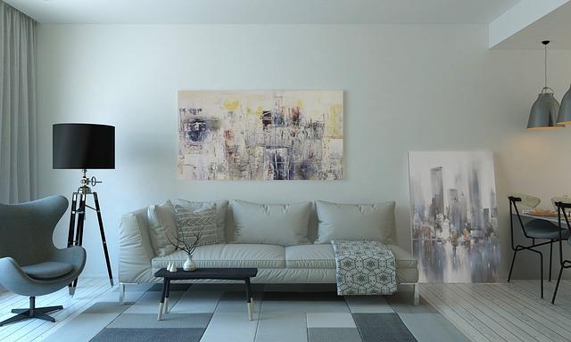 Dekoracja salonu – wykorzystaj potencjał ściany