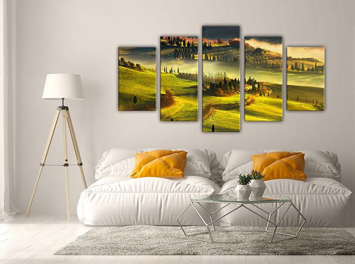 Obrazy drukowane – piękna dekoracja do mieszkania i domu