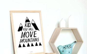 Plakaty do pokoju dziecięcego – wybierz niepowtarzalną dekorację