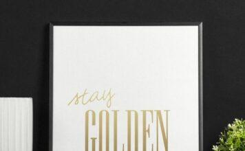 Złote plakaty